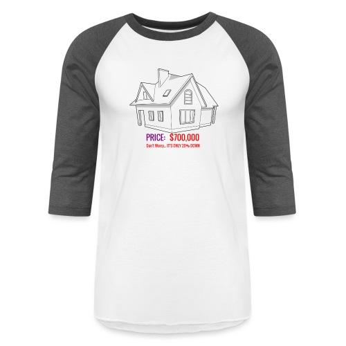 Fannie & Freddie Joke - Unisex Baseball T-Shirt