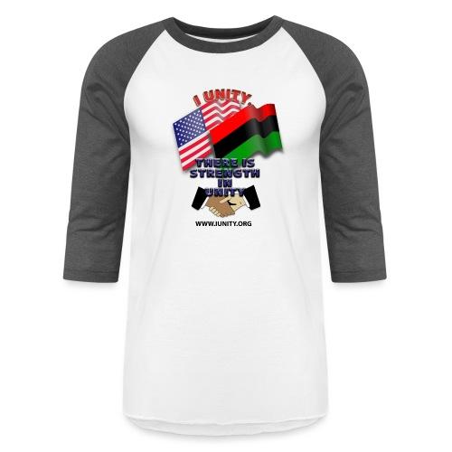 us afro E02 - Unisex Baseball T-Shirt