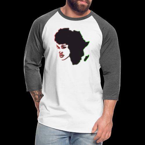 Afrika is Woman - Unisex Baseball T-Shirt