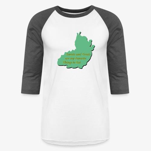Sweets and Treats on the Chew Chew Train - Baseball T-Shirt