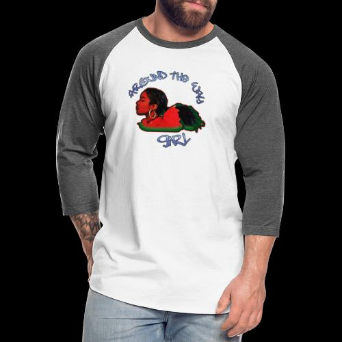 Around The Way Girl - Unisex Baseball T-Shirt