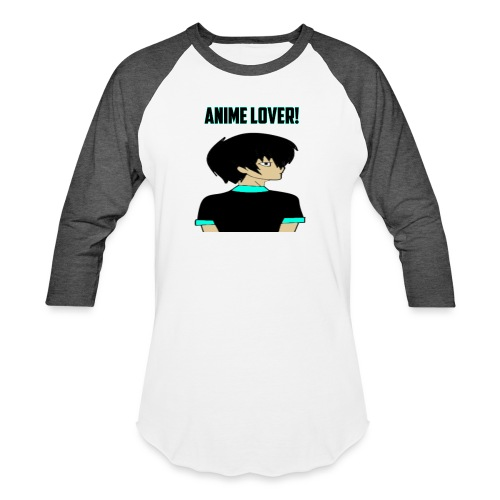 anime lover - Baseball T-Shirt