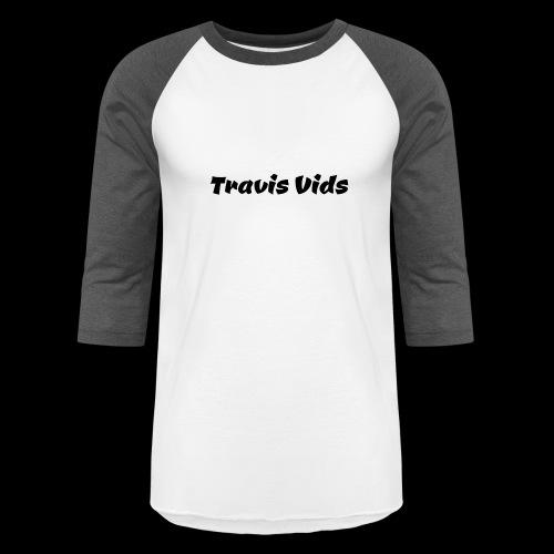 White shirt - Unisex Baseball T-Shirt