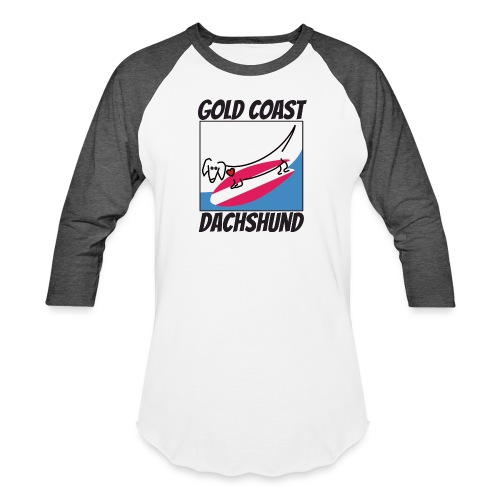 Gold Coast Dachshund - Baseball T-Shirt