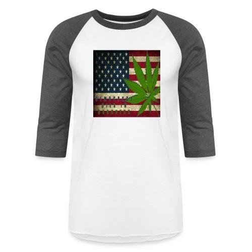 Political humor - Unisex Baseball T-Shirt