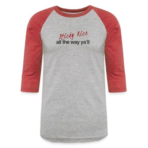 Sticky Rice - Baseball T-Shirt