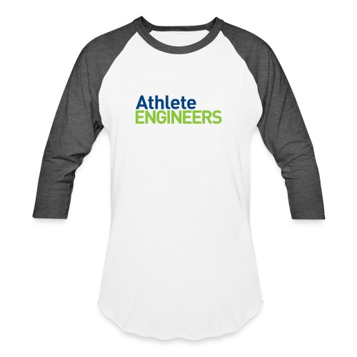 Athlete Engineers - Stacked Text - Baseball T-Shirt