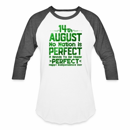 14th August Independence Day - Baseball T-Shirt