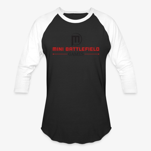 Mini Battlefield Games Logo - Baseball T-Shirt