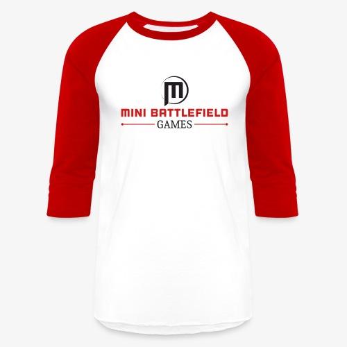 Mini Battlefield Games Logo - Baseball T-Shirt