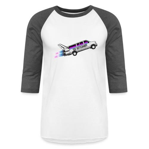 Rocketship - Unisex Baseball T-Shirt