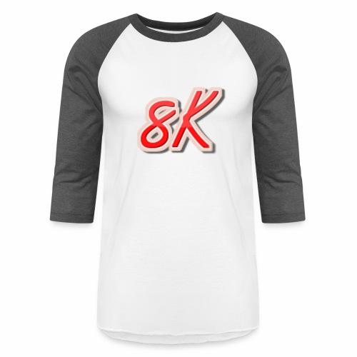 8K - Baseball T-Shirt