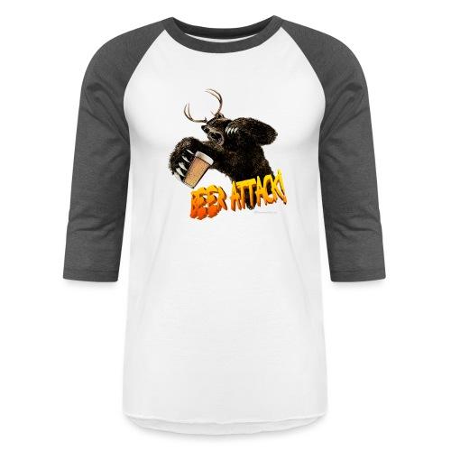 BEER ATTACK! - Baseball T-Shirt