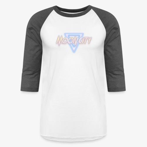 Moon City Logo - Baseball T-Shirt