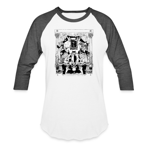 black chai tee - Unisex Baseball T-Shirt