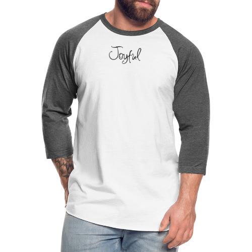Joyful Curvy - Unisex Baseball T-Shirt