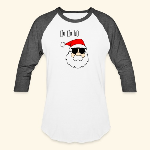 Christmas Santa HoHoHo design - Baseball T-Shirt