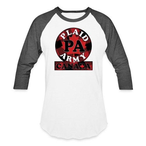 Plaid Army Canada - Baseball T-Shirt