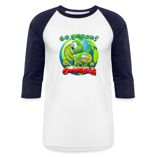 Gummibär Go Green Earth Day Earth - Baseball T-Shirt