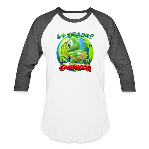 Gummibär Go Green Earth Day Earth - Unisex Baseball T-Shirt