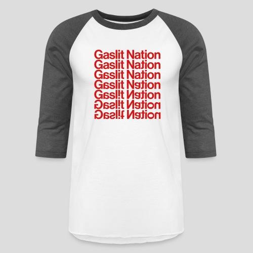 Gaslit Nation - Baseball T-Shirt