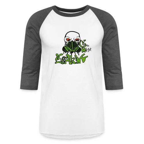 Leaking Gas Mask - Baseball T-Shirt