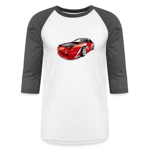 cars drift - Baseball T-Shirt