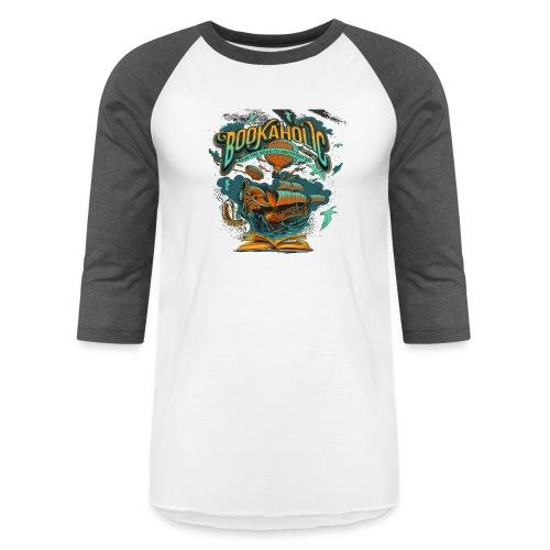 Bookaholic - Unisex Baseball T-Shirt
