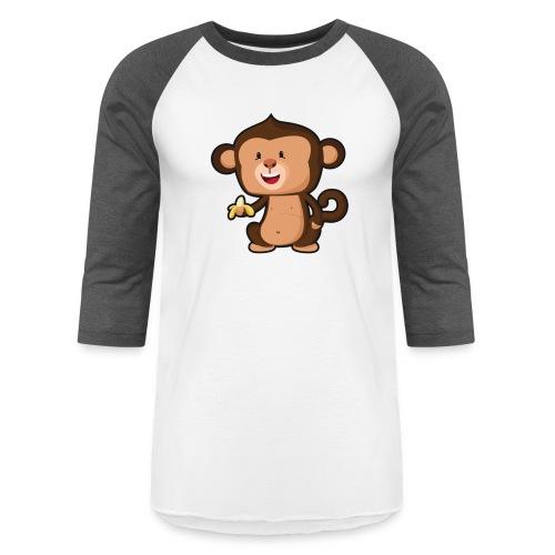 Baby Monkey - Unisex Baseball T-Shirt