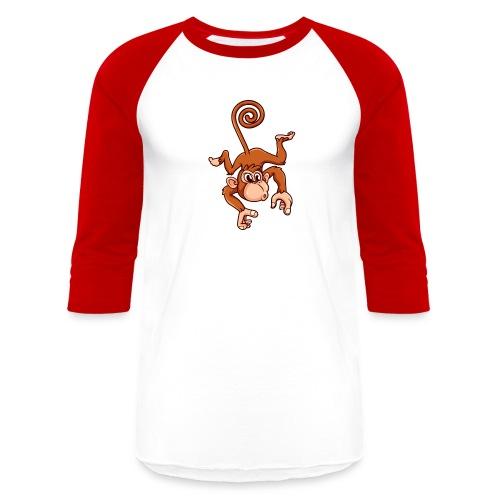 Cheeky Monkey - Baseball T-Shirt