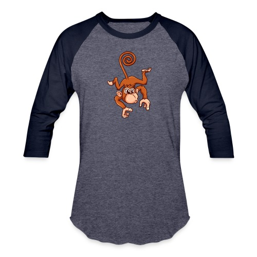 Cheeky Monkey - Baseball T-Shirt