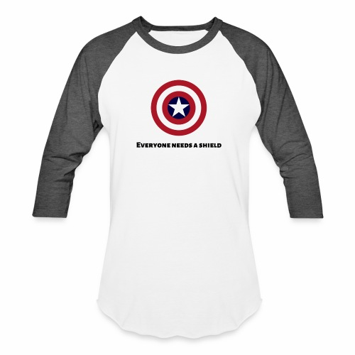 Captain America - Baseball T-Shirt