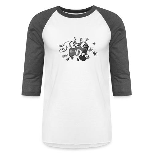 MEL*O*DEE MERMAID WRESTLER LOGO - Baseball T-Shirt