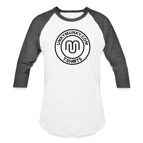 UNKYMUNKY BADGE - Unisex Baseball T-Shirt