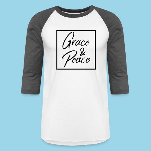 Grace and Peace - Unisex Baseball T-Shirt