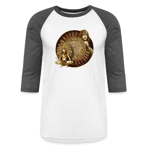 Raices Aztecas by RollinLow - Baseball T-Shirt