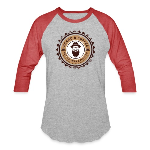 Beard and Coffee Merch - Baseball T-Shirt