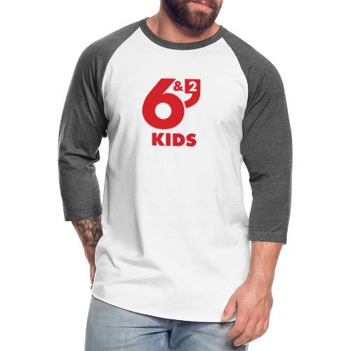 6et2 logo v2 kids 01 - Unisex Baseball T-Shirt