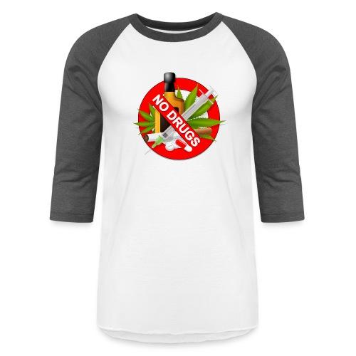 drug clipart drug addiction - Unisex Baseball T-Shirt