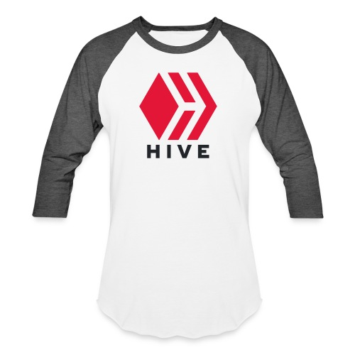 Hive Text - Unisex Baseball T-Shirt