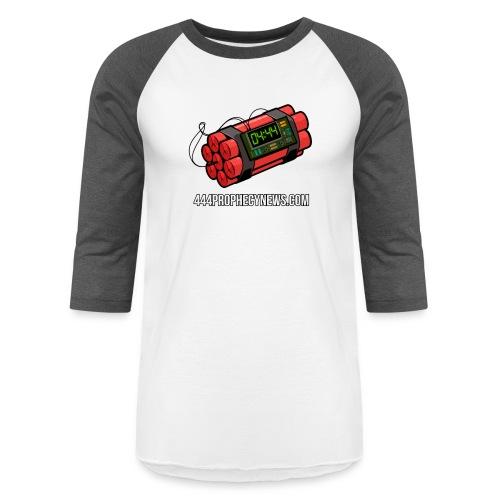 The Clock Is Ticking - Baseball T-Shirt