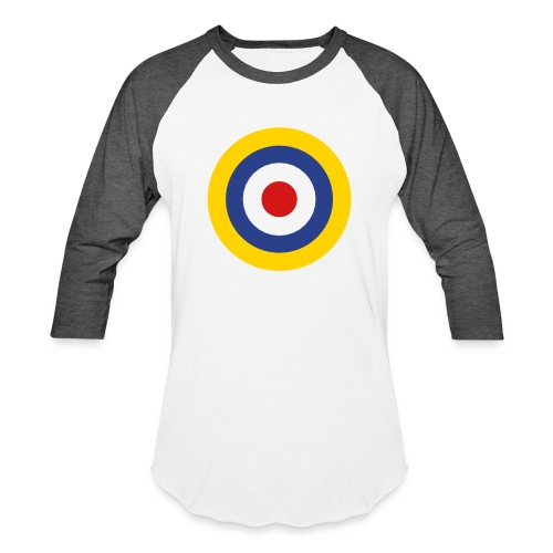 UK Symbol - Axis & Allies - Unisex Baseball T-Shirt