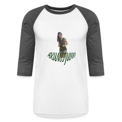 Akumojung 1 - Unisex Baseball T-Shirt