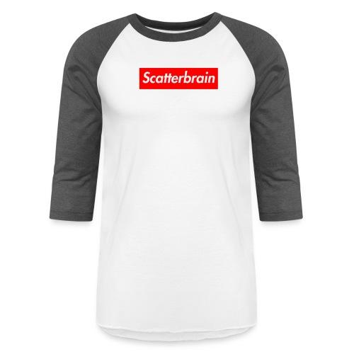 scatterbrain logo - Baseball T-Shirt