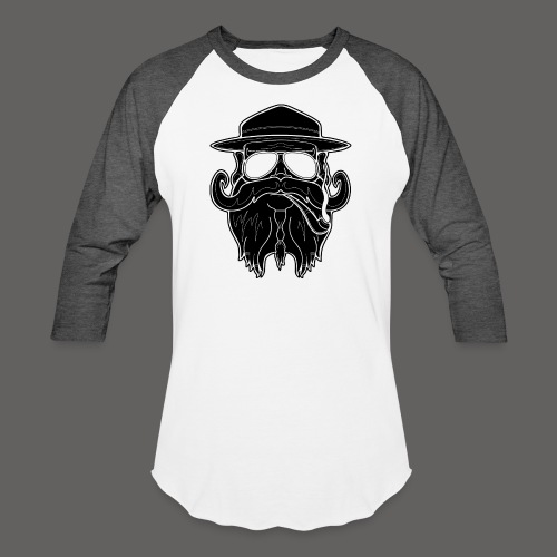OldSchoolBiker - Baseball T-Shirt
