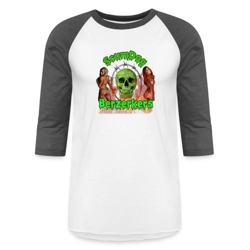 Scumdog Berzerkers - Unisex Baseball T-Shirt