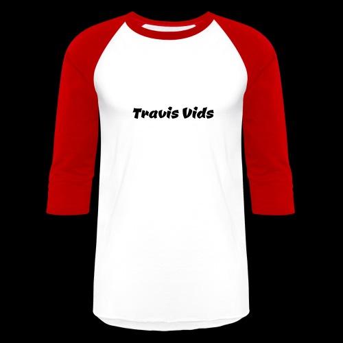 White shirt - Baseball T-Shirt