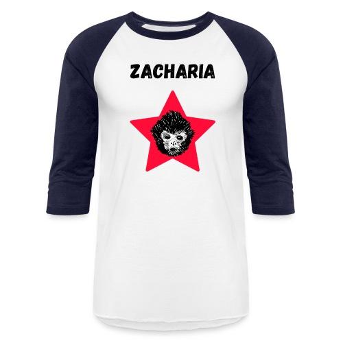 transparaent background Zacharia - Unisex Baseball T-Shirt