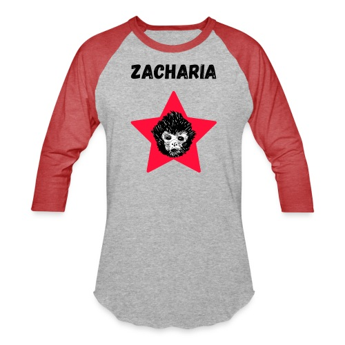 transparaent background Zacharia - Unisex Baseball T-Shirt
