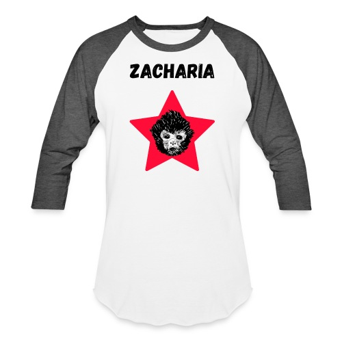 transparaent background Zacharia - Baseball T-Shirt